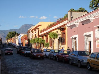 Oaxaca - colonial houses