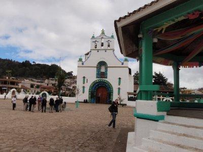 pagan church in Chamula