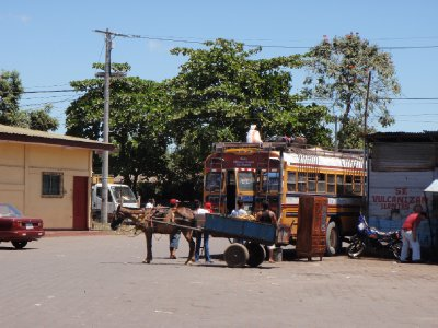 means of transportation in Nicaragua