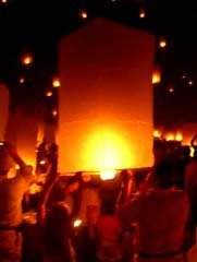 Khom Loy hot air balloon