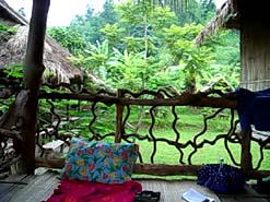 View from our Lisu hilltribe bungalow