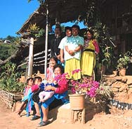 A Lisu Hill Tribe Family