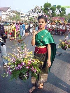 Flower festival Parade