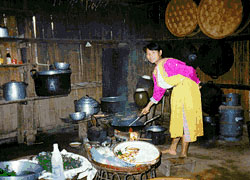 A Lisu Hill Trbe Kitchen