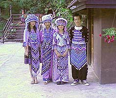 Hmong Hill Tribe Children