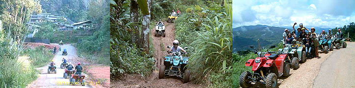 ATV riding near Chiang Mai Thailand