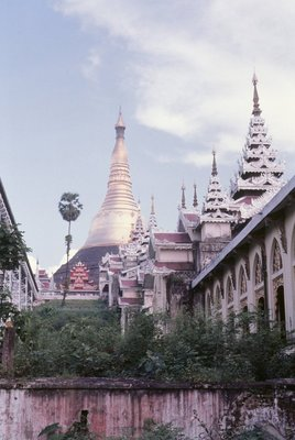 Approaches to the Shwe Dagon Stupa