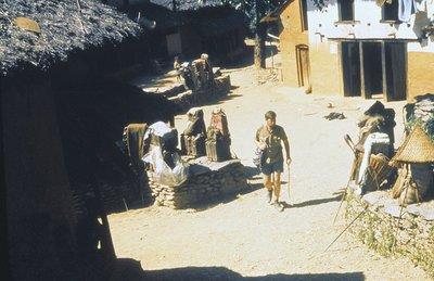 Ade in village, western Nepal