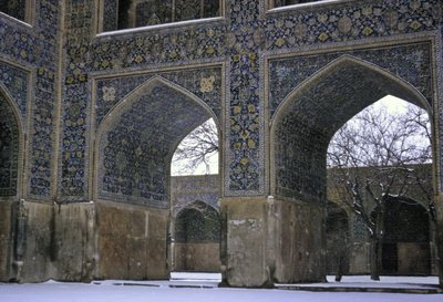 Detail of the Shah Mosque, Isfahan