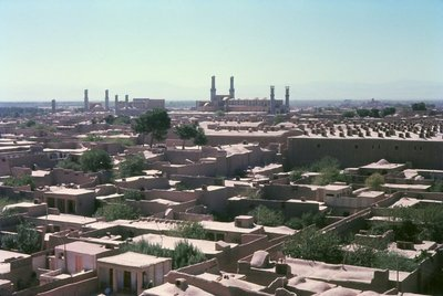 Great Friday Mosque and the houses of Herat