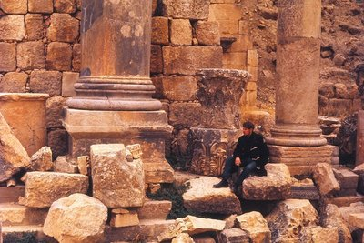 Adrian Among the Ruins, Jerash