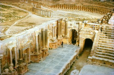 Onstage at Jerash, Forum Beyond