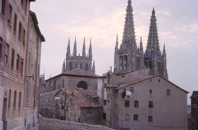The Spires of Burgos Cathedral