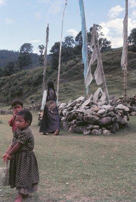 Buddhist Prayer mound