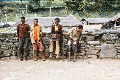 Tibetans at Swiss Camp, Pokhara