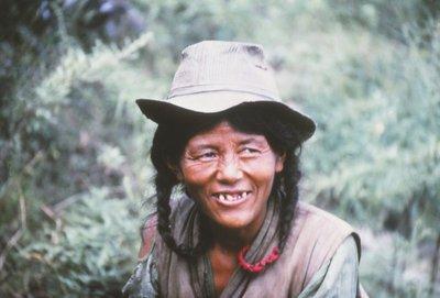 Tibetan man, Pokhara