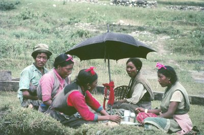 Tibetans at Pokhara