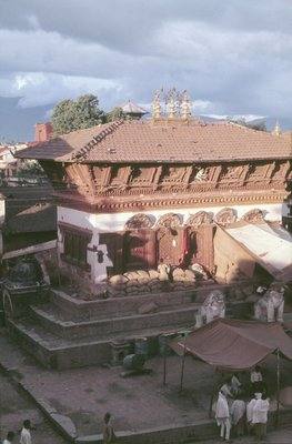 Temple of Shiva and Parvati, Durbar Square