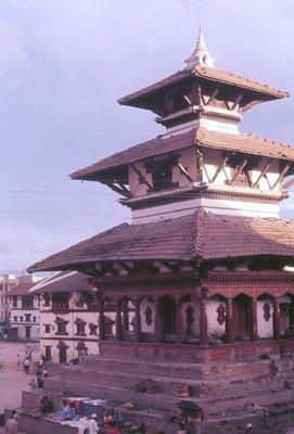 Temple in Durbar Square, Kathmandu