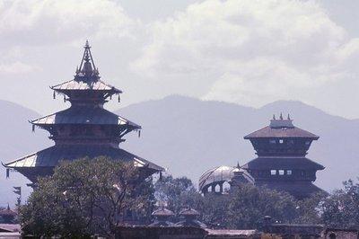 Rooftops of Kathmandu