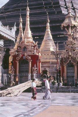 Shrines at base of Pagoda