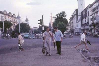 Ade and Al in Rangoon