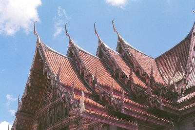 Roofs of Wat Benchamabophit