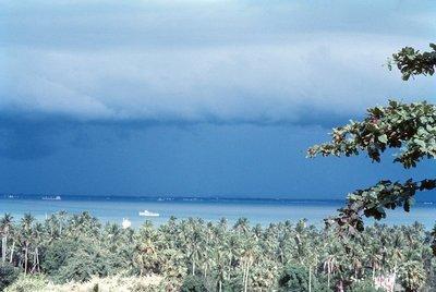 Storm approaching Penang