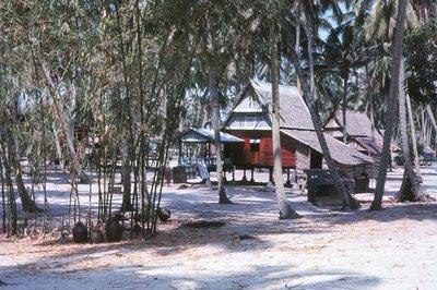 Fishing village at Malacca