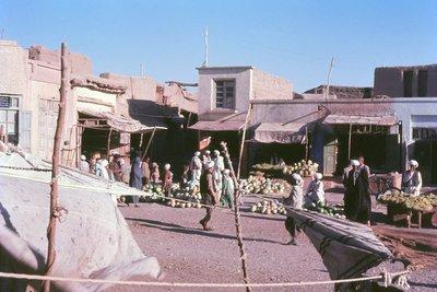 Melon stalls, Herat