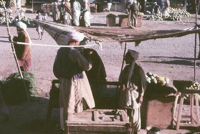 Fruit stall, Herat
