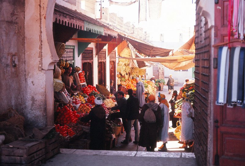 In the Casbah, Meknes