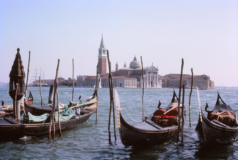 Looking across to San Giorgio Maggiore