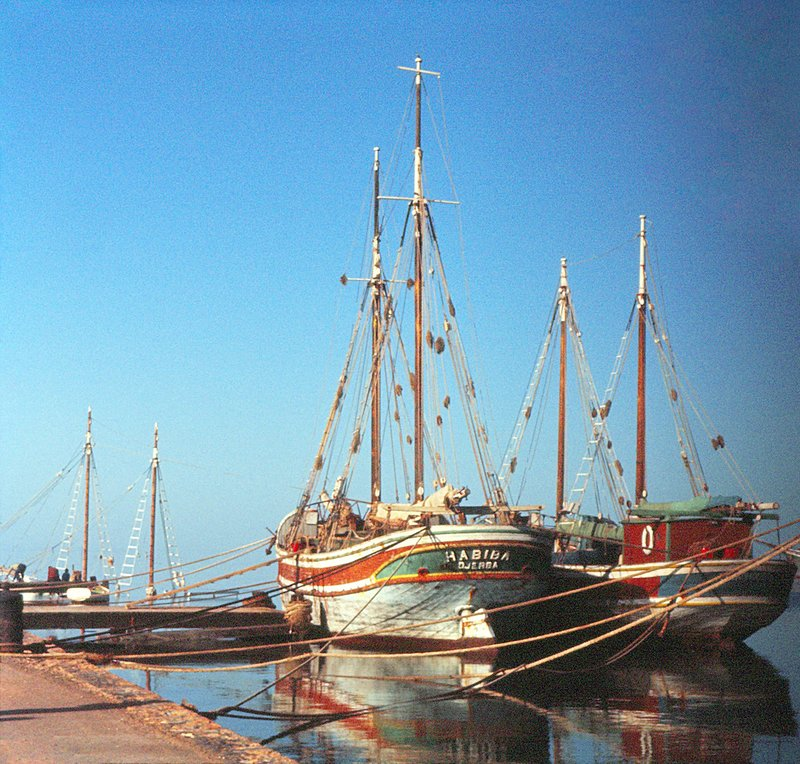 Fishing boats, Djerba, Tunisia