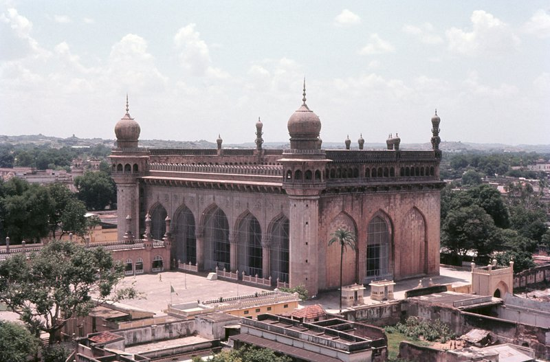 Mecca Masjid, from Char Minar