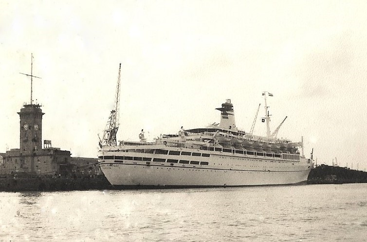 T.V. Galileo, Berthed at Apollo Pier Bombay