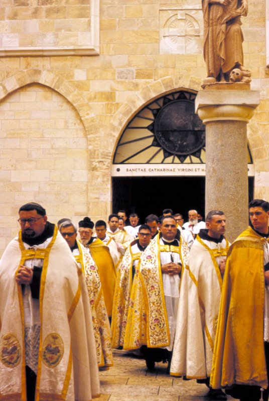 Procession at Bethlehem