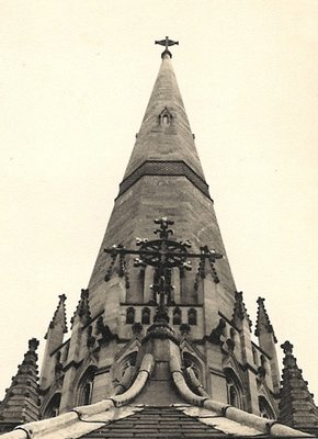 Spire of St. Patricks Cathedral, Melbourne