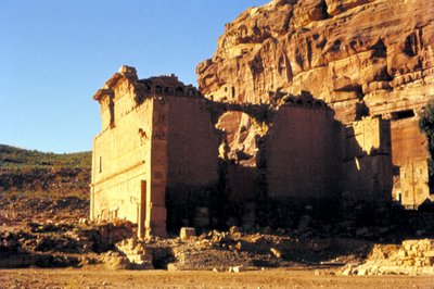 Roman Temple in Petra