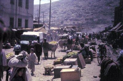 Street Scene in Kabul
