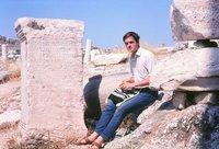 Me on  the Acropolis 1966