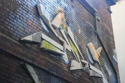 Installation art broken down