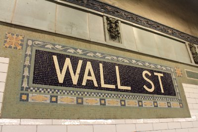 The subway - Wall St