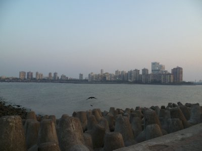 Colaba from Nariman Point