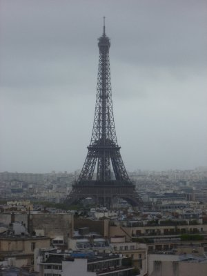 The Eiffel Tower from the Arc