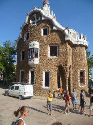 A house with Gaudi's name written all over it (not literally)
