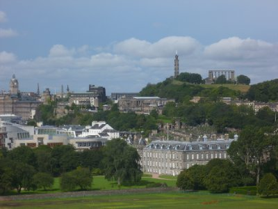 Calton Hill from Holyrood