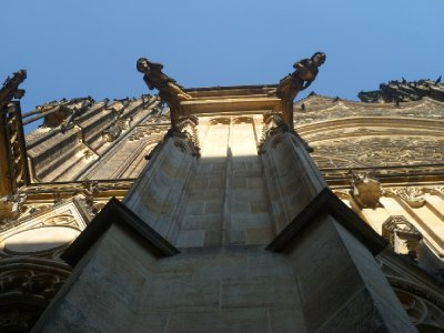 Gargoyles on St Vitus Cathedral