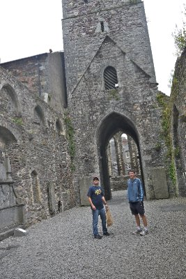 In an old church, Waterford