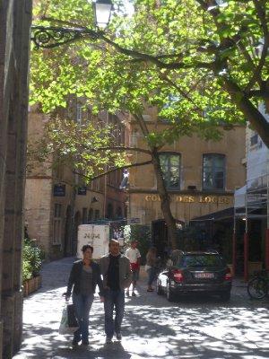 Lyon's old town